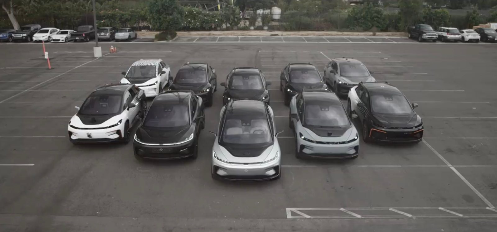 Faraday Future Teases Fleet Of Ff91 Electric Car Prototypes As It Still Aims For Launch This Year