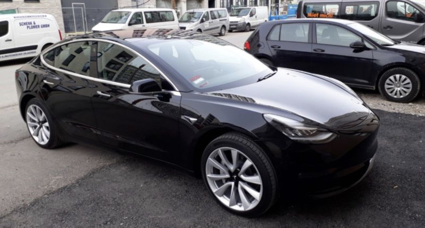 Tesla Model 3 vehicles start showing up for sale in Europe on the