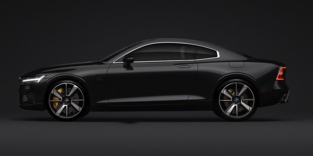 Uber Lease Car >> Volvo starts taking configurations and $2,500 deposits for their Polestar 1 Plug-in Hybrid ...