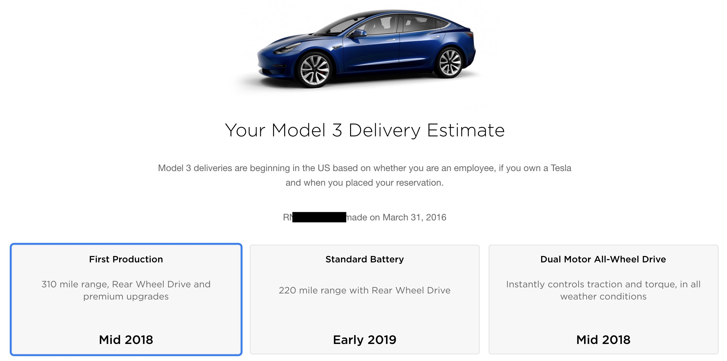 tesla starts model 3 launch in canada confirms starting price at 45 600 cad electrek. Black Bedroom Furniture Sets. Home Design Ideas