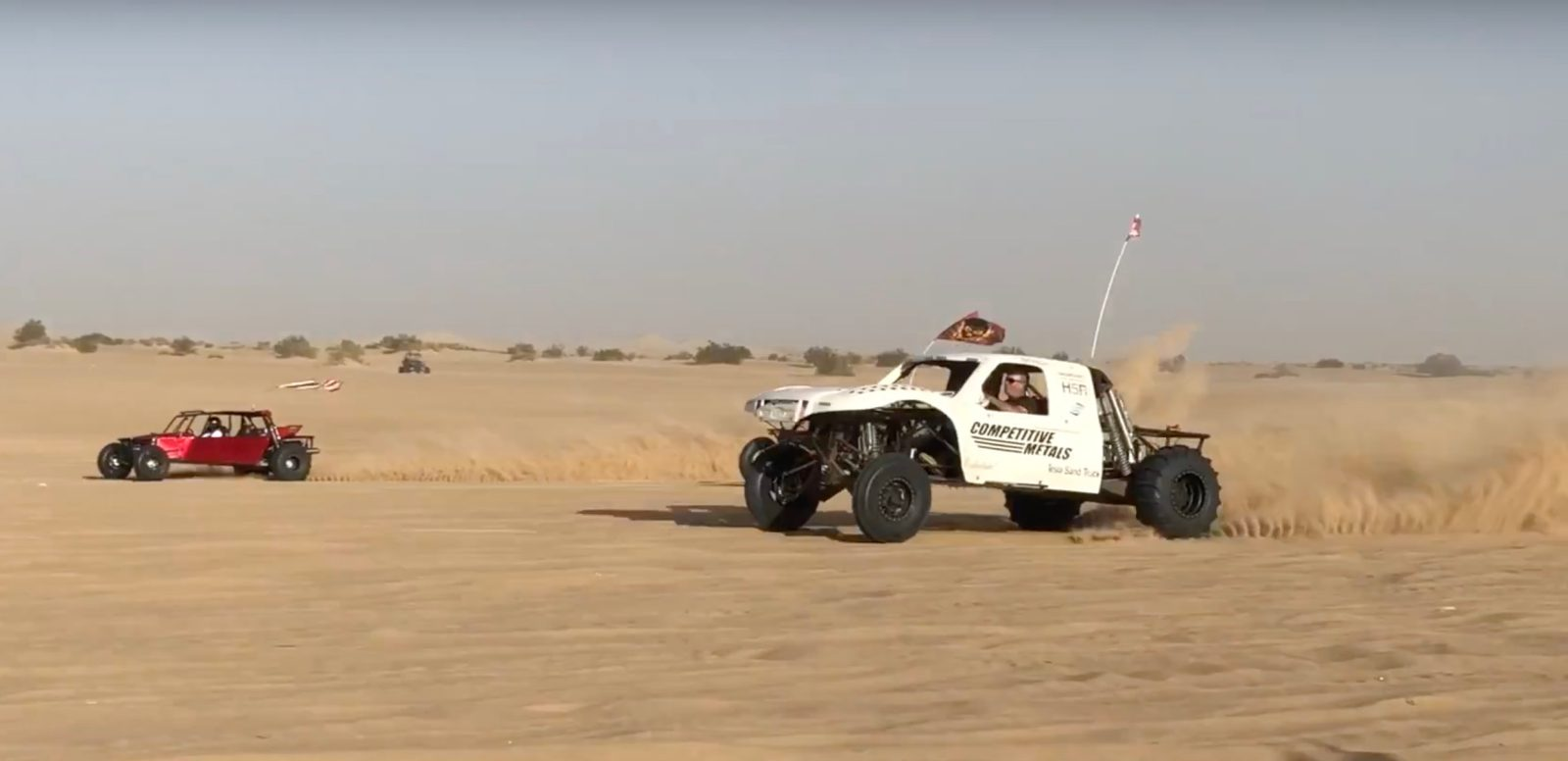 Watch A Tesla Ed Electric Dune Buggy Accelerate Shockingly Fast In Sand