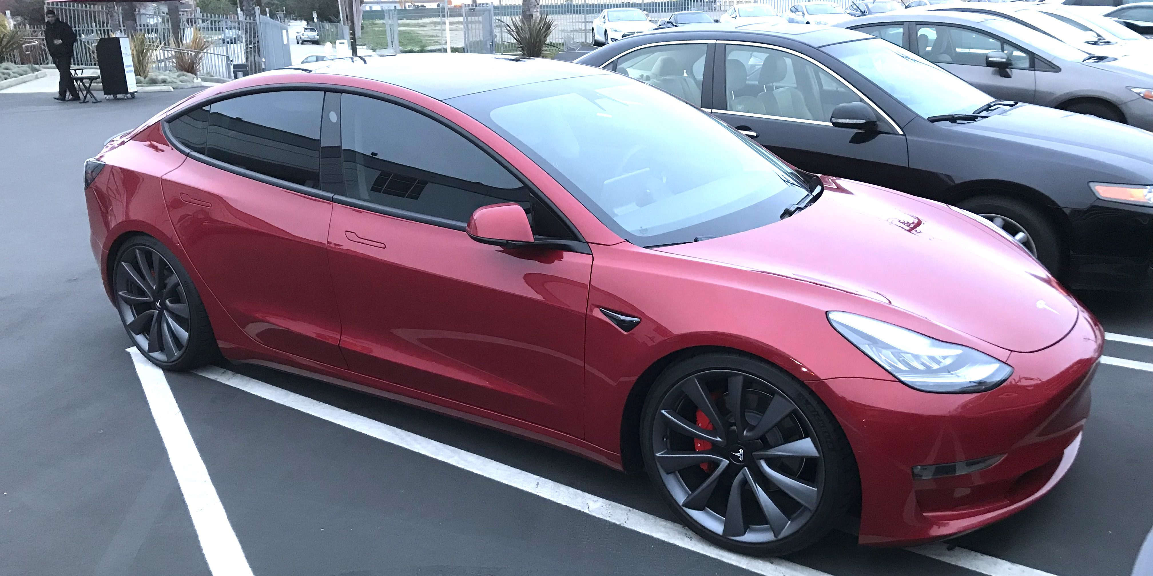 A Look At Tesla Chief Designer S Stunning Custom Model 3 Electrek