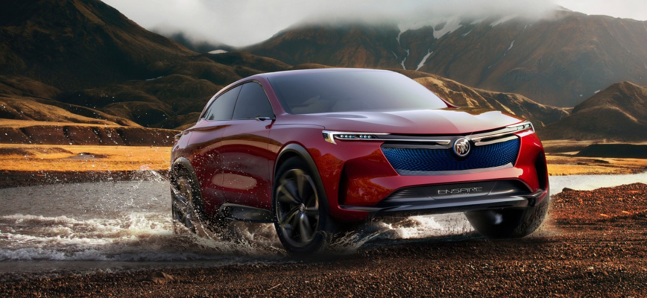 Buick Unveils A Stunning New All Electric 370 Mile Suv Concept W 4