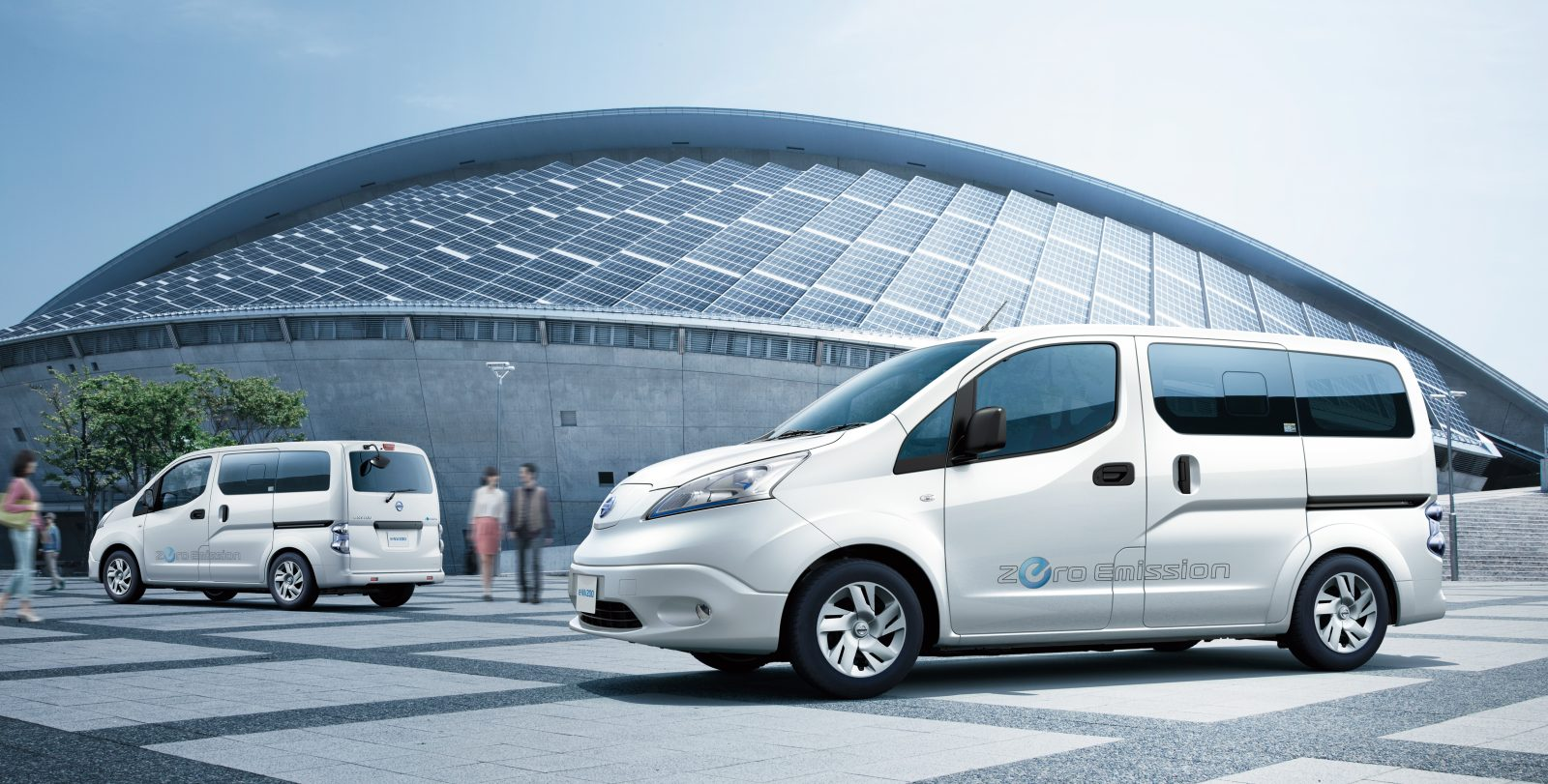 Nissan Launches E Nv200 Electric Van With New 40 Kwh Battery Pack For More Range