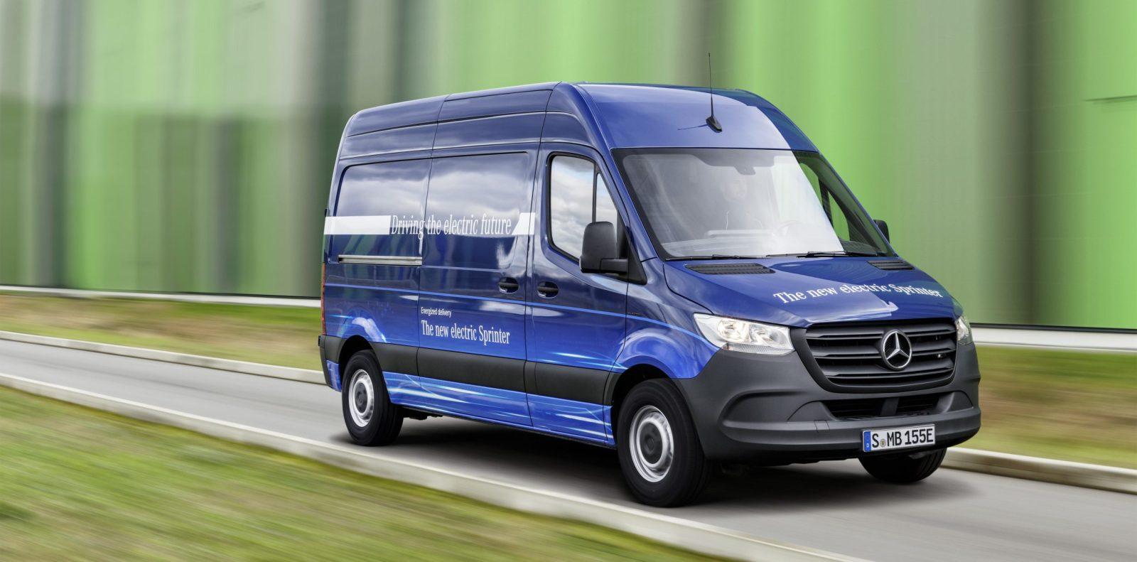 Mercedes-Benz unveils new eSprinter all-electric van with