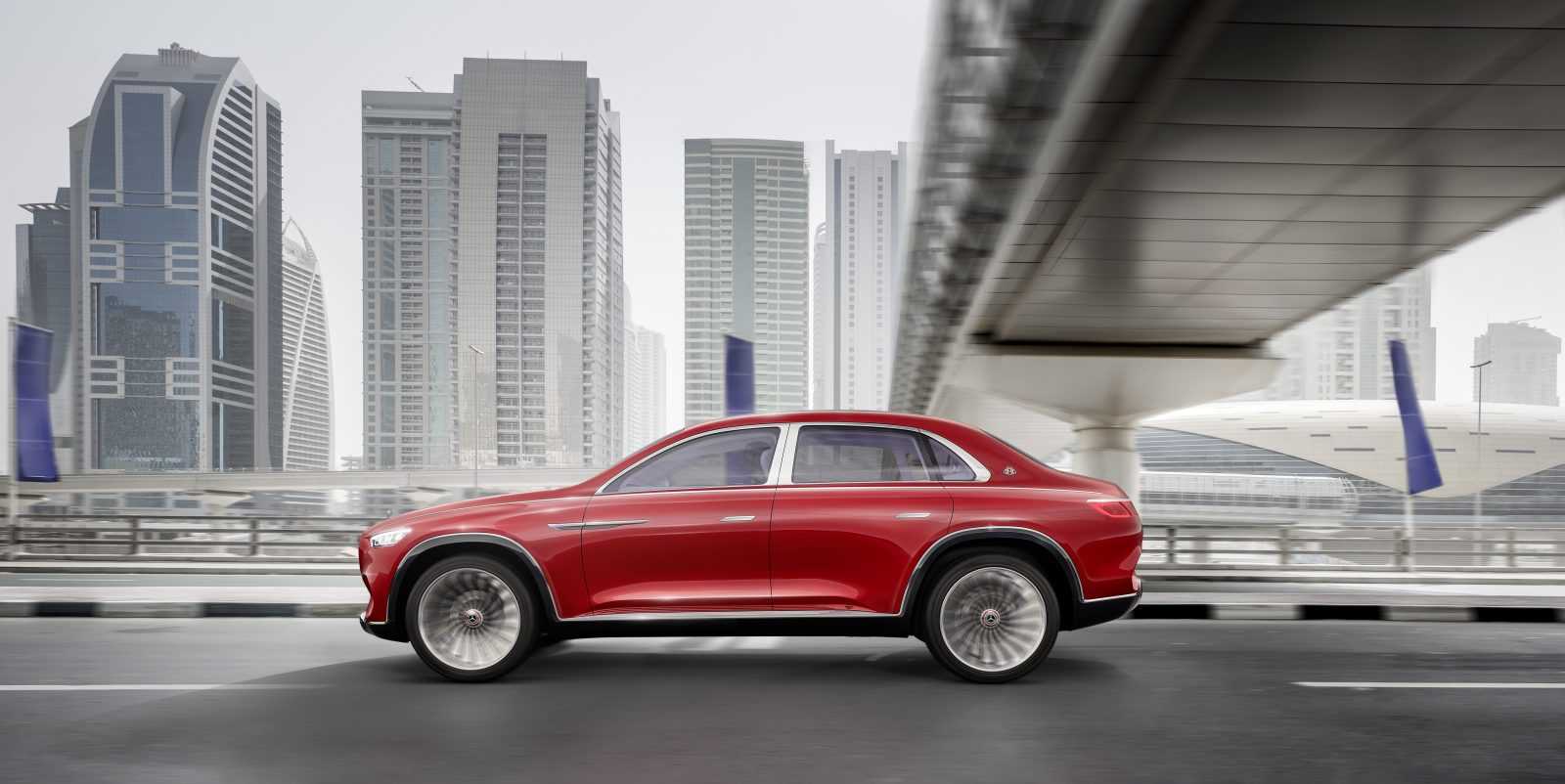 Mercedes Maybach Unveils All Electric Luxury Suv Concept Electrek