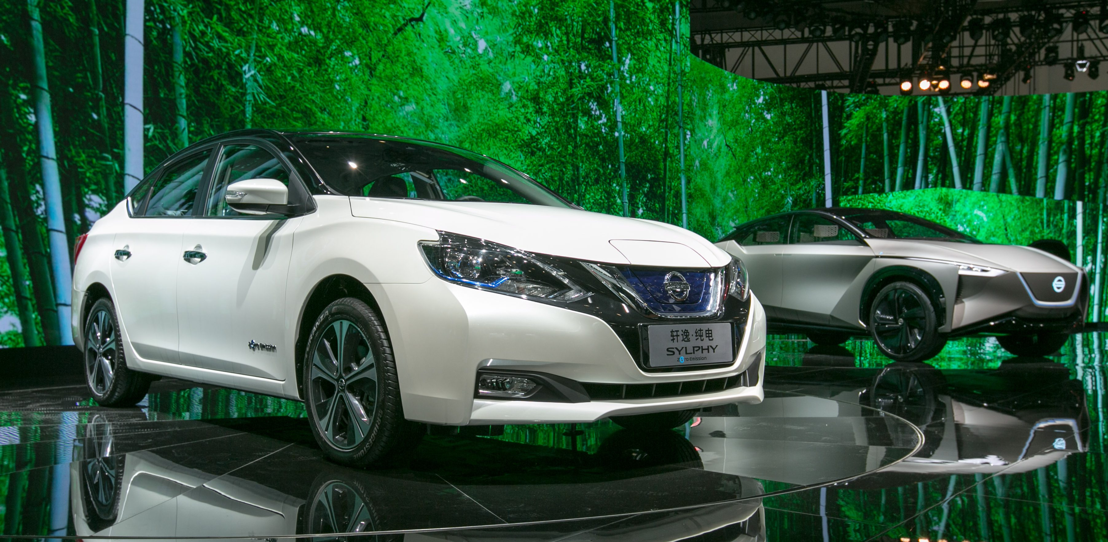Nissan Unveils A New Leaf Based Electric Car To Be Mass Produced In
