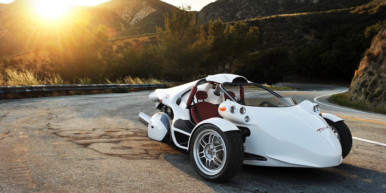 An all-electric T-REX three-wheeler is coming with a powertrain by ...