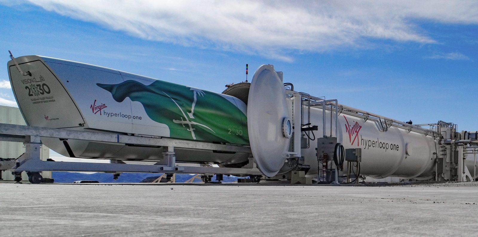 Image result for hyperloop one