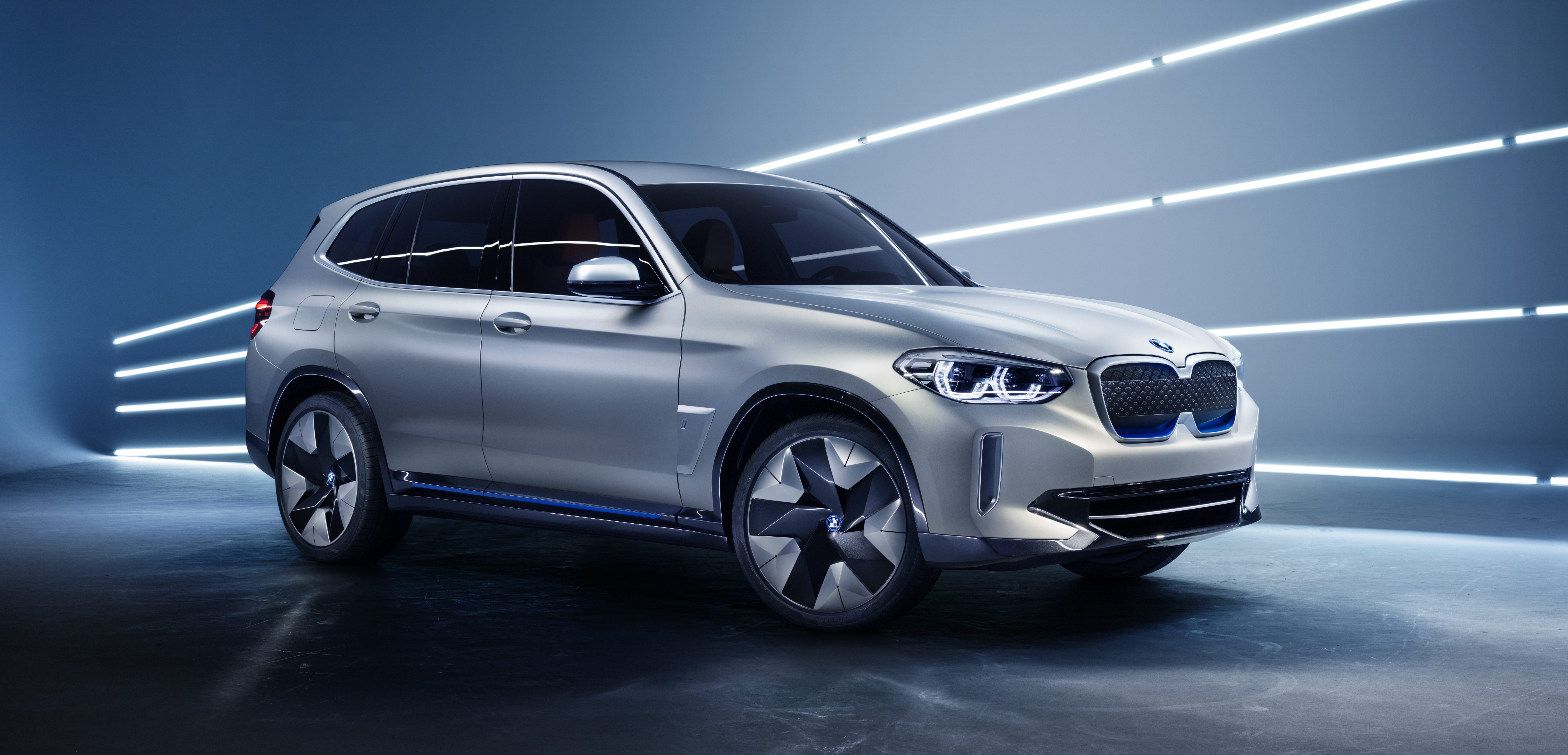 Bmw Unveils New All Electric Ix3 Suv With 250 Miles Of Range And 150
