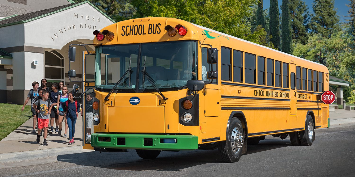 Blue Bird Takes Its New All Electric Buses On The Road To Convince Schools Go