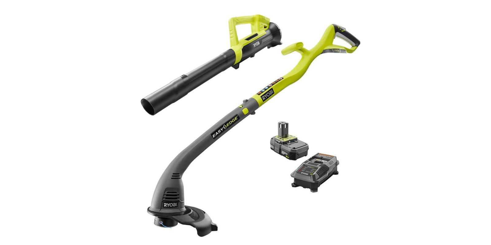 Pick up a Ryobi ONE+ 18V Electric Trimmer and Blower for $99, more
