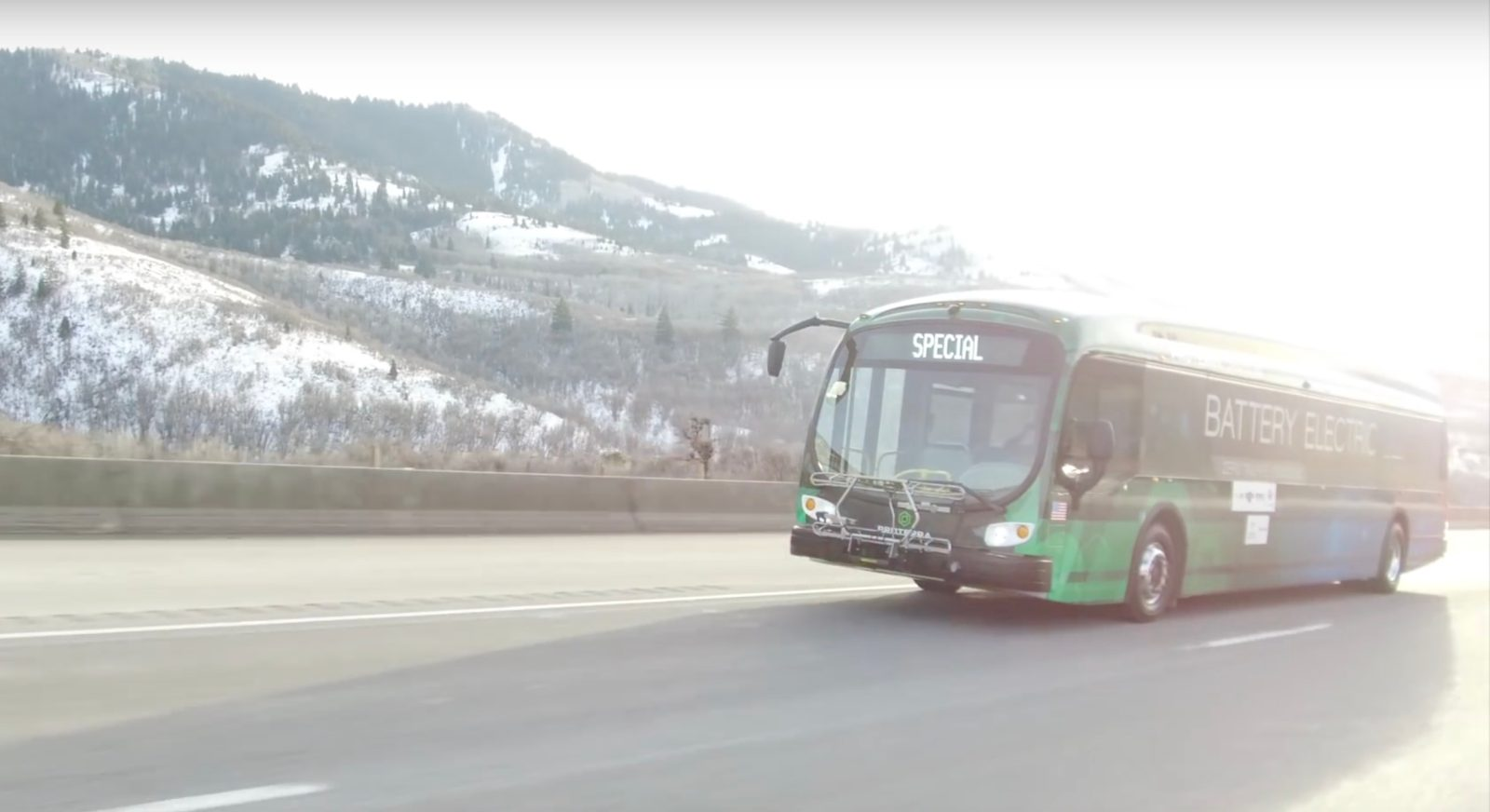 Proterra puts its all-electric dual motor bus to a tough test on Utah's steepest roads