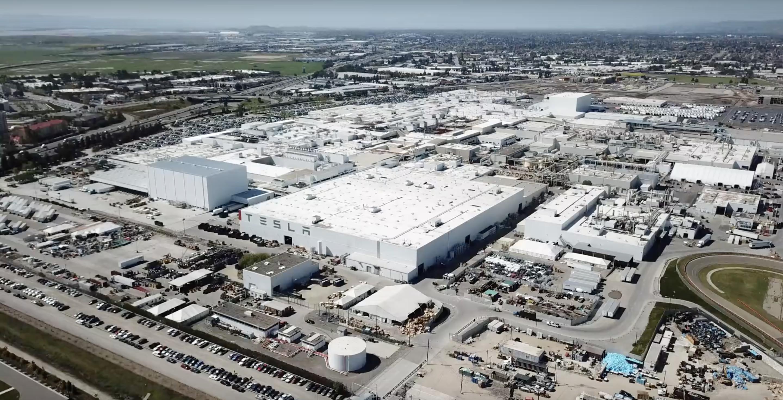 Mercedes Benz Fremont >> A look at Tesla's Fremont factory 'masterplan' progress - Electrek