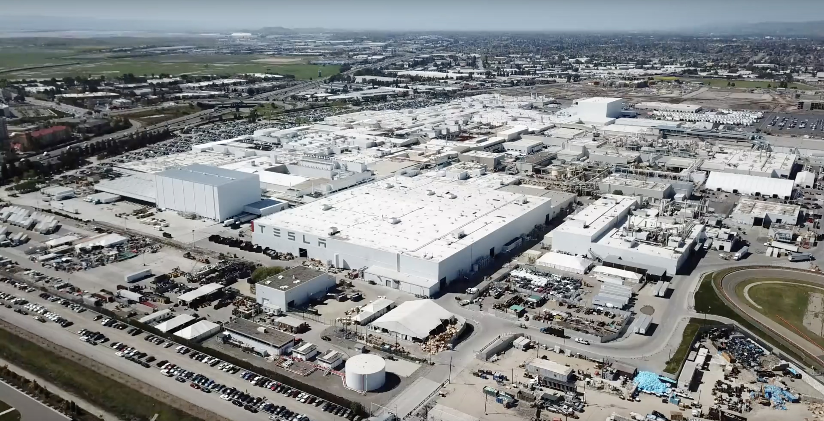 Tesla is working on 5th assembly line at Fremont factory ahead of Model Y production - Electrek