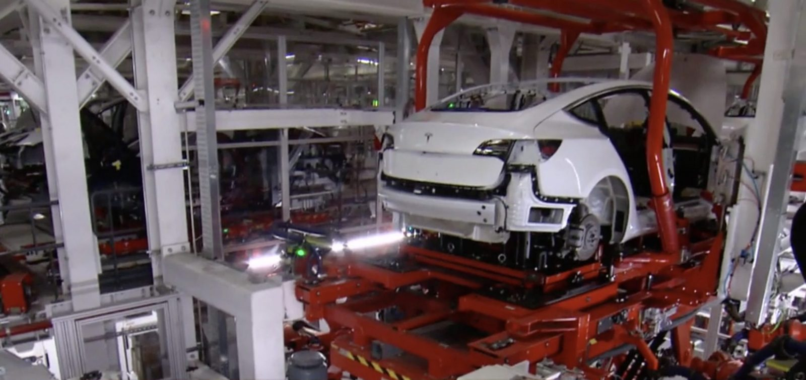 Tesla Gives Update On Model 3 Production Battery Module Now Ok Automotive Wiring Harness Process Focus Automation
