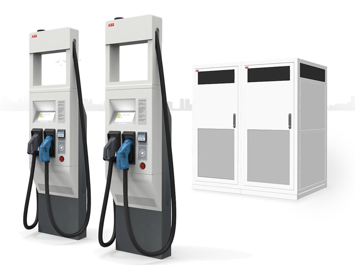 ABB unveils its 350 kW electric vehicle charging tech