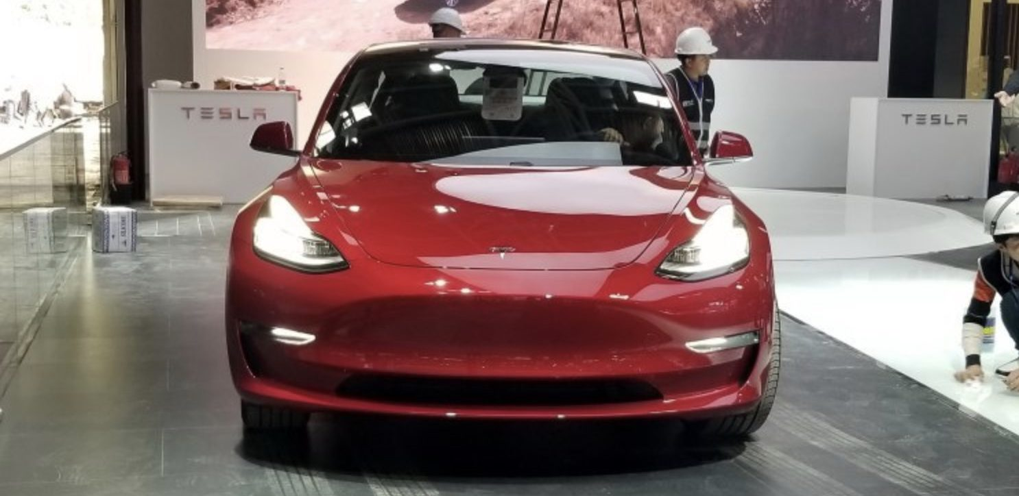 Tesla officially launches Model 3 in China, announces cheaper version coming