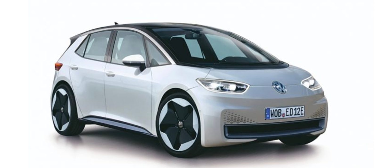 Image Of Vw S First New Production Electric Car Reportedly Leaks