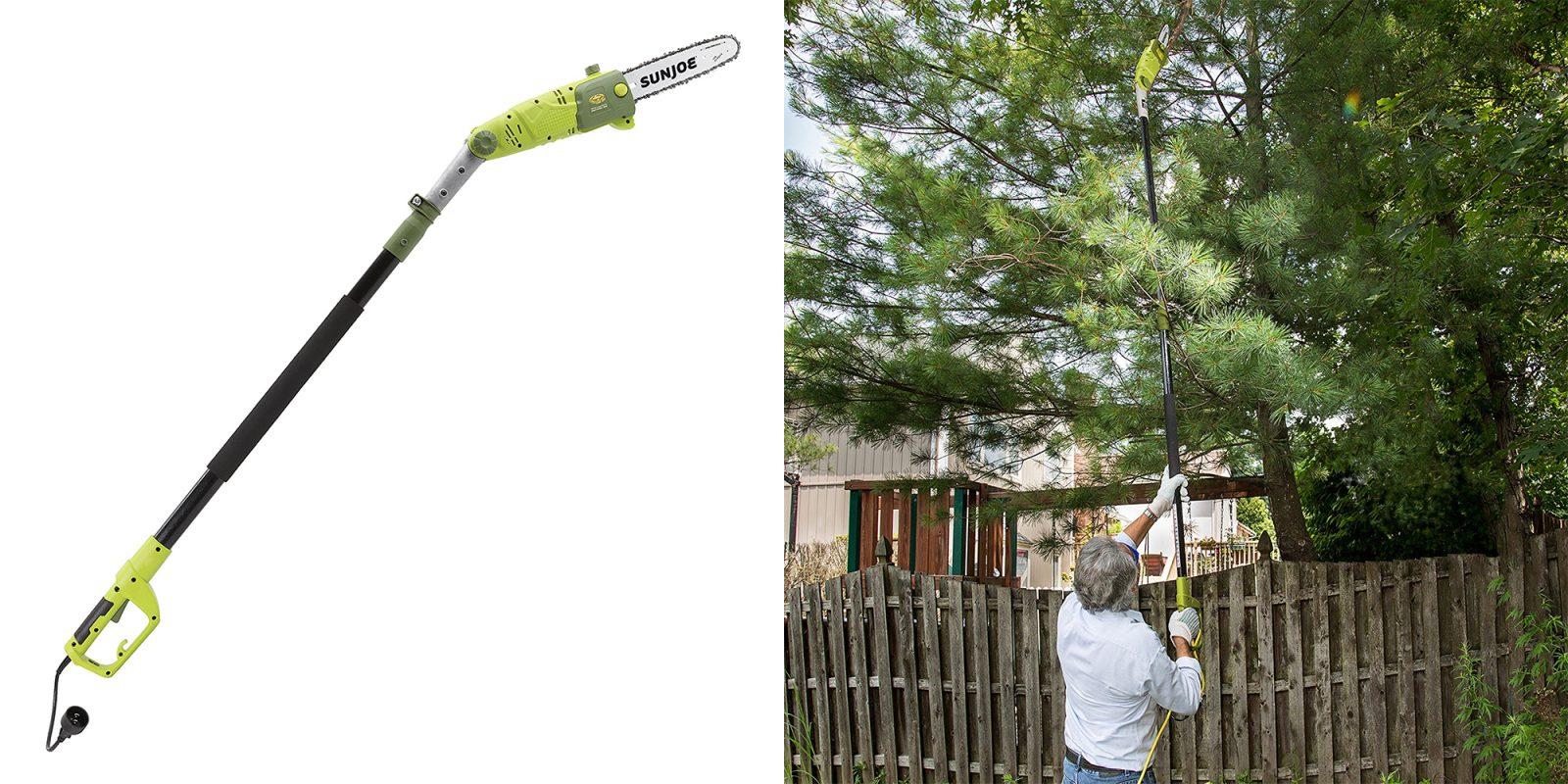 Green Deals: Sun Joe 10-inch 8A Multi-Angle Pole Chain Saw $60, more ...