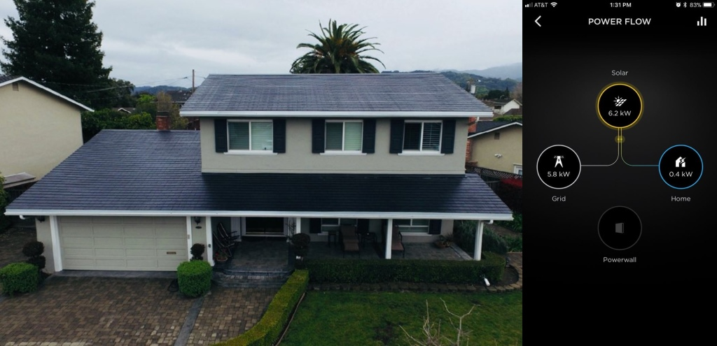 First Tesla Solar Roof Customer Installation Is Now Up And