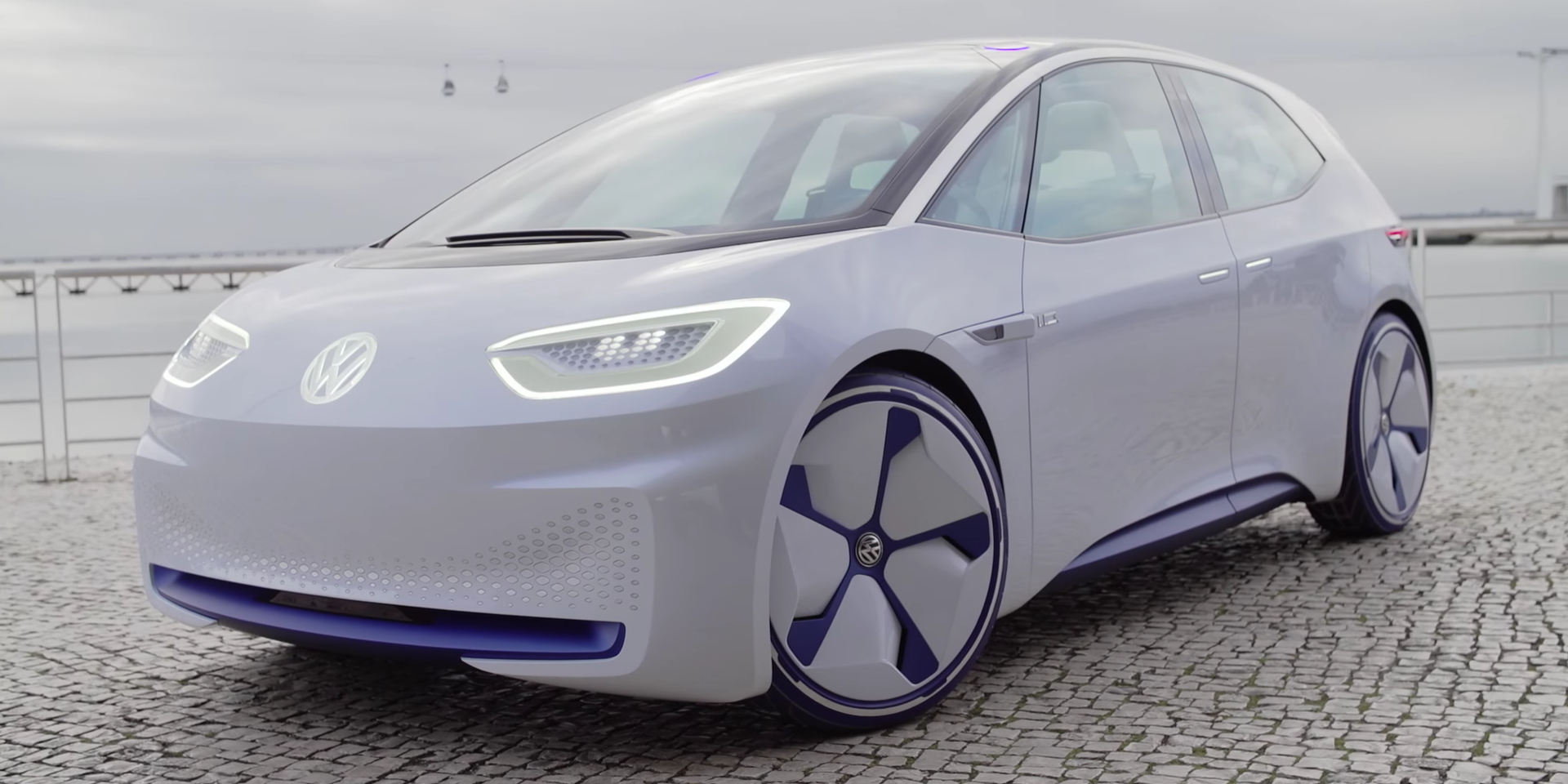 The Report Reiterates Range That Vw Originally Announced Which Was A Nedc Rated Of 400 To 600 Km 250 375 Miles Depending On Battery
