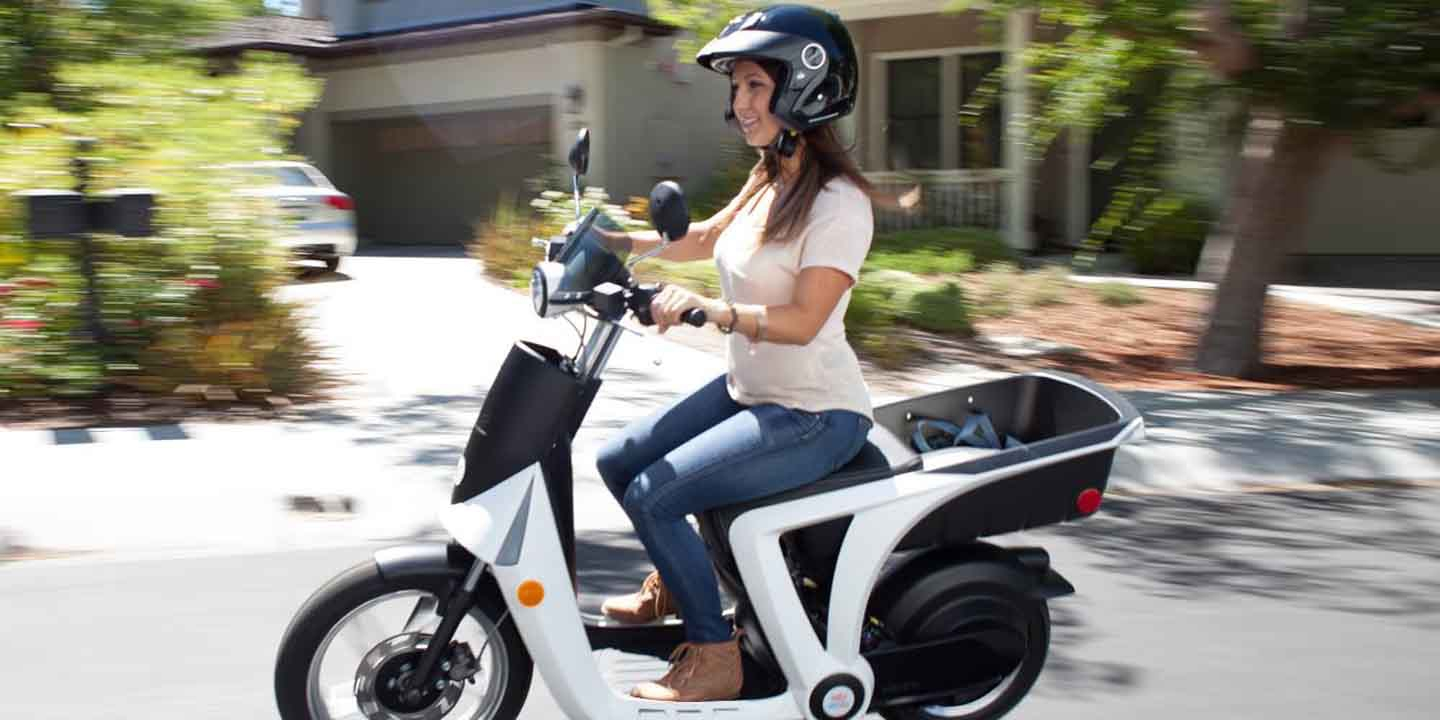 The GenZe 2 0 electric scooter is American made, Indian