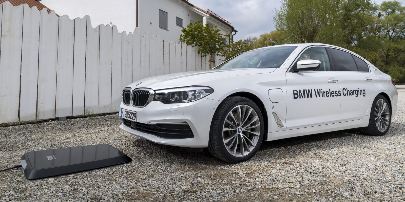 Bmw Launches Wireless Electric Car Charging System Touted As