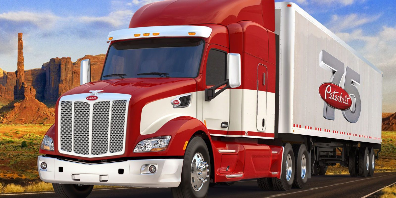 Peterbilt Becomes Latest Truck Maker To Work On All Electric Cl 8 Compete With Tesla Semi
