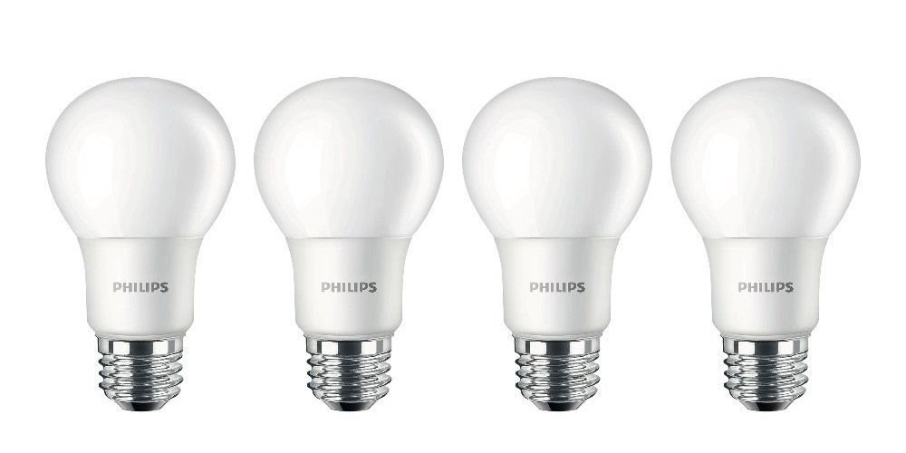 Green Deals: 4-pack Philips Frosted LED Light Bulbs under $9, more ...