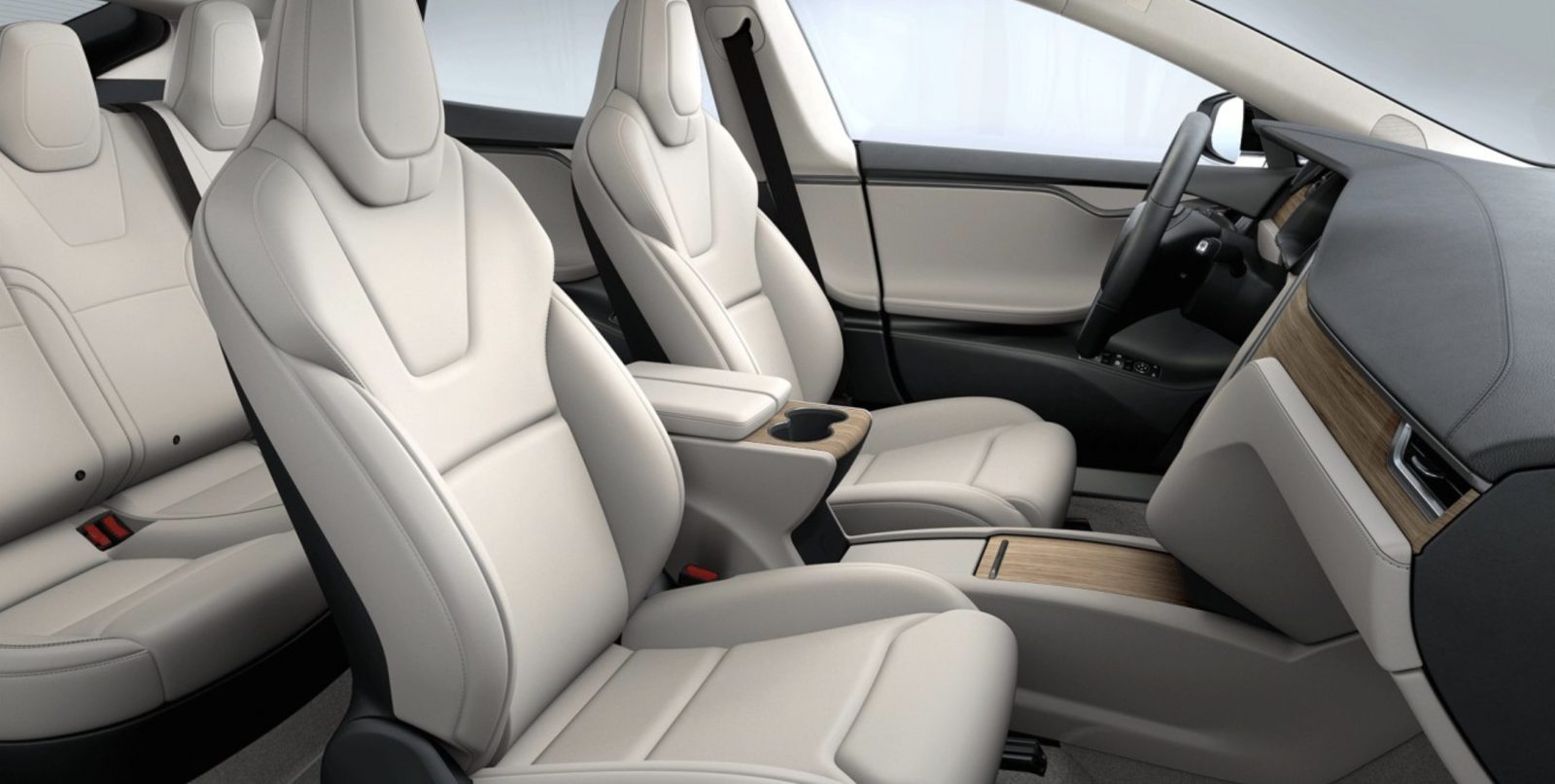 Tesla Model S Interior >> Tesla Updates Model S And Model X With New Interior Finish