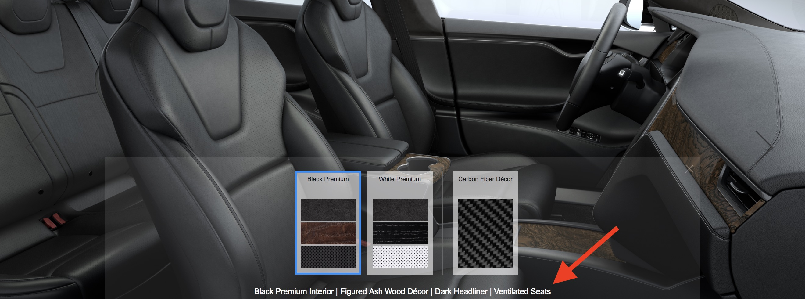 Tesla Brings Back Ventilated Seats And Makes New Black Arachnid