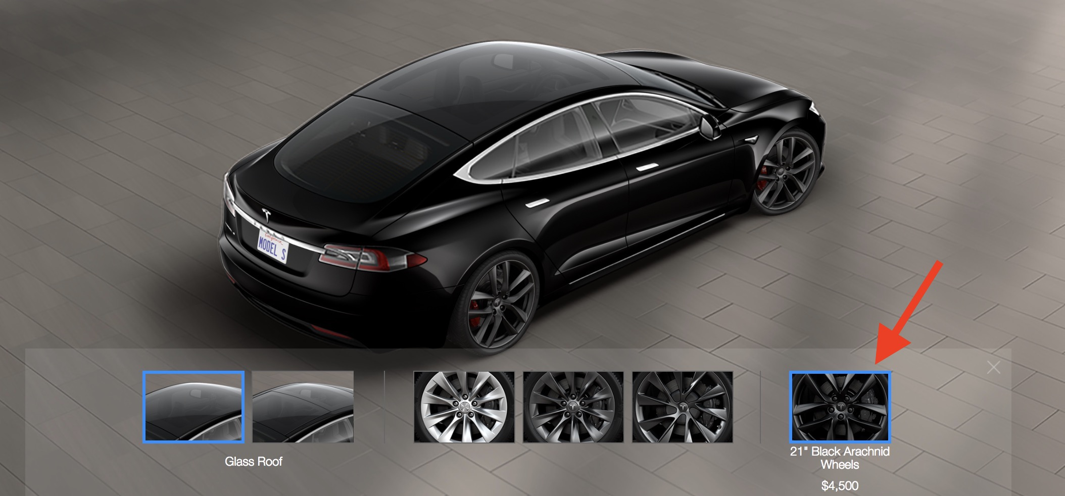 tesla brings back ventilated seats and makes new black arachnid wheels available