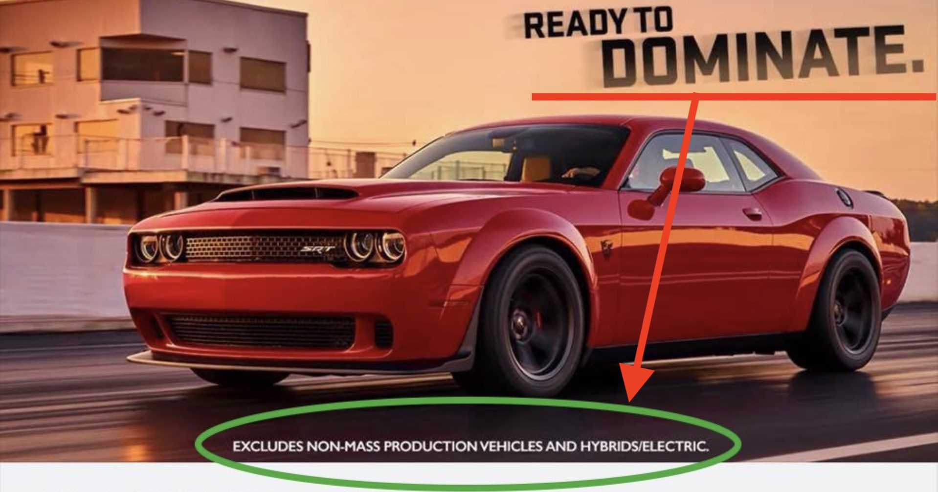 Dodge Challenger Demon Ad Turns Into Best Electric Vehicle