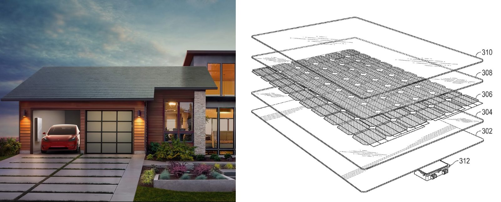 Tesla Solar Roof Shingles >> Tesla Patent Reveals Secret Behind Its Solar Roof Tile S Camouflage