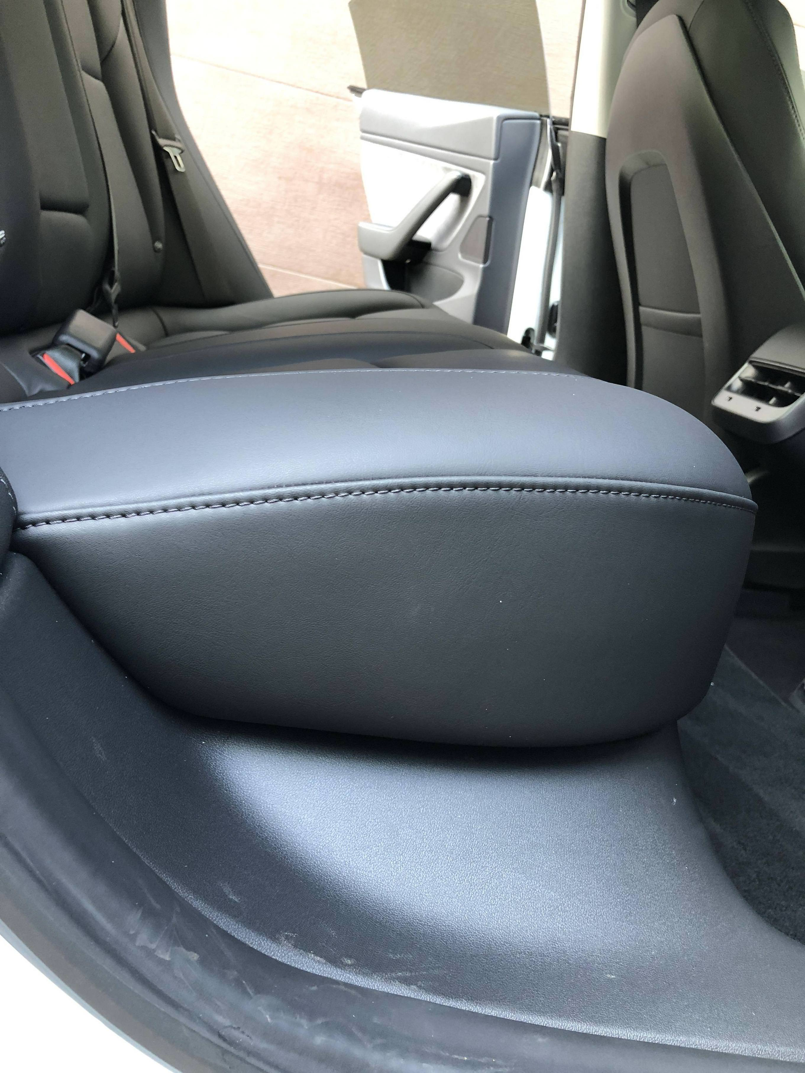 First Look At Tesla Model 3 S New Backseat Electrek
