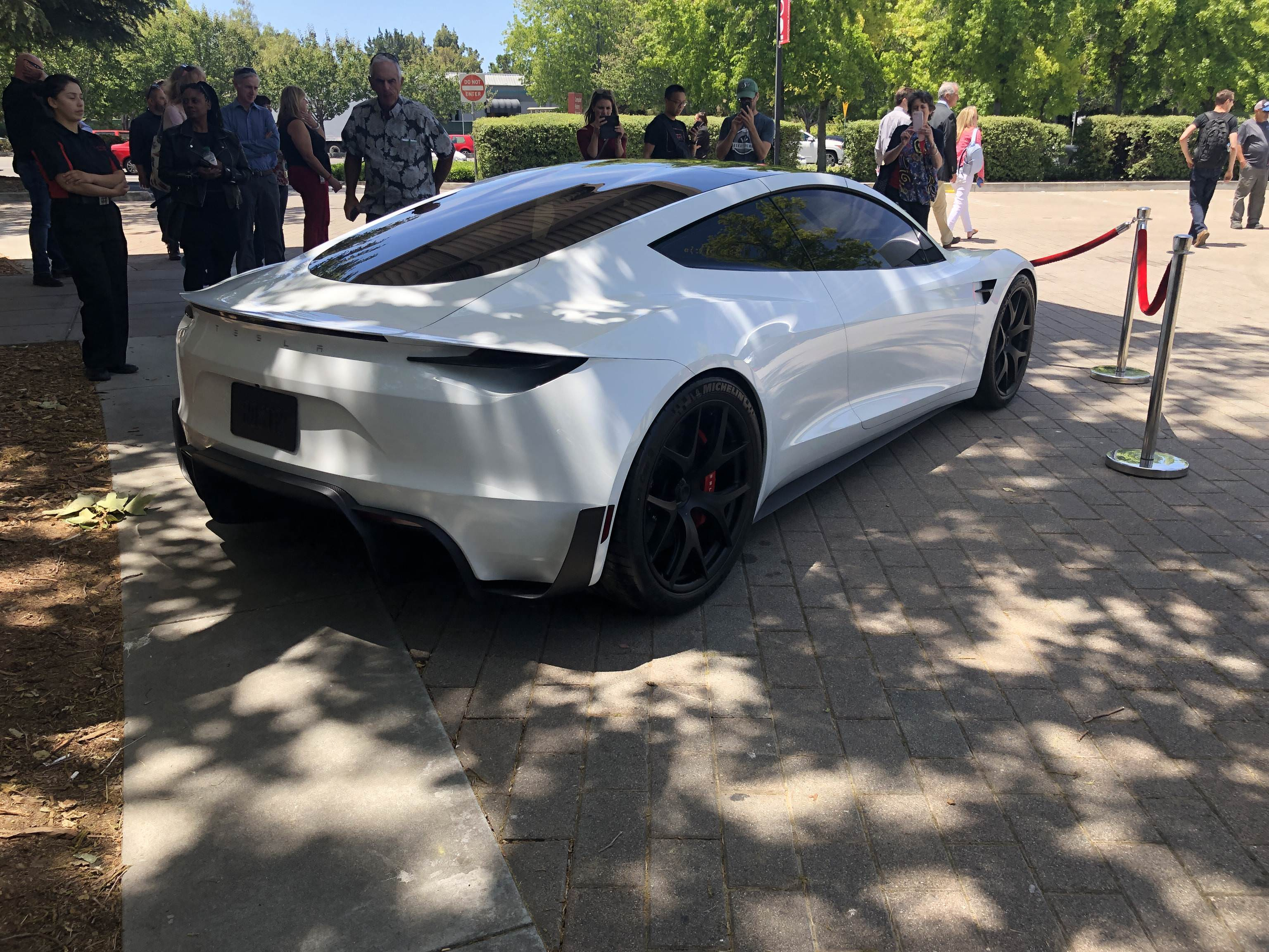People At The Event Started To Share Images Of New Electric Supercar On Social Media Pictures Via Ryaneager Reddit And Tamino Wirz Tesla Owners