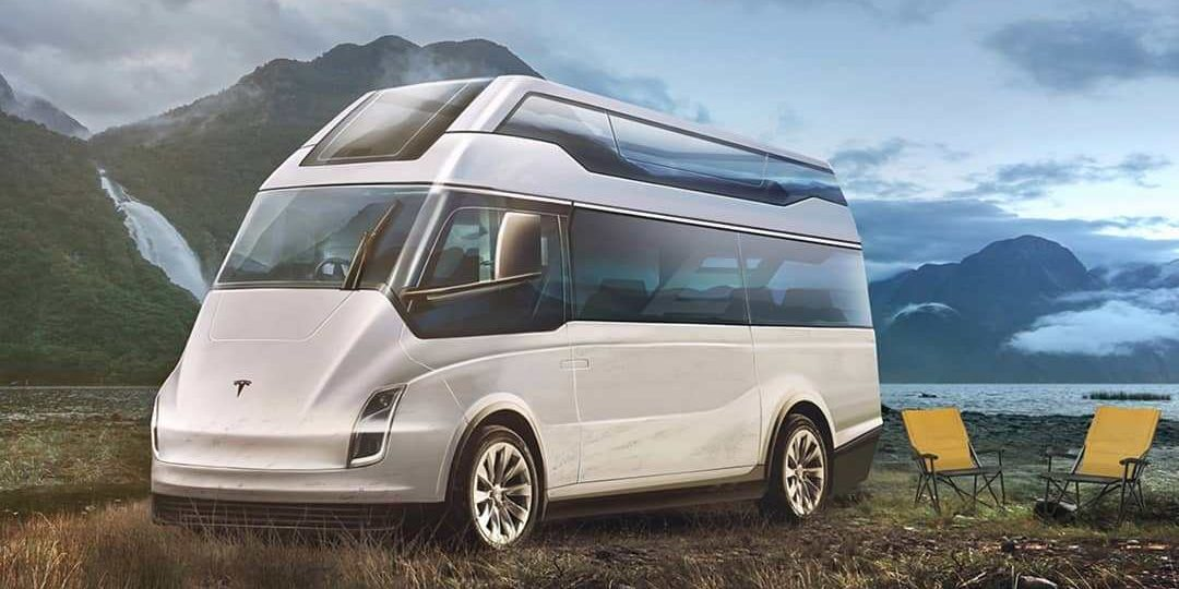 A Tesla Electric Motorhome Design Based On Semi Love It Or
