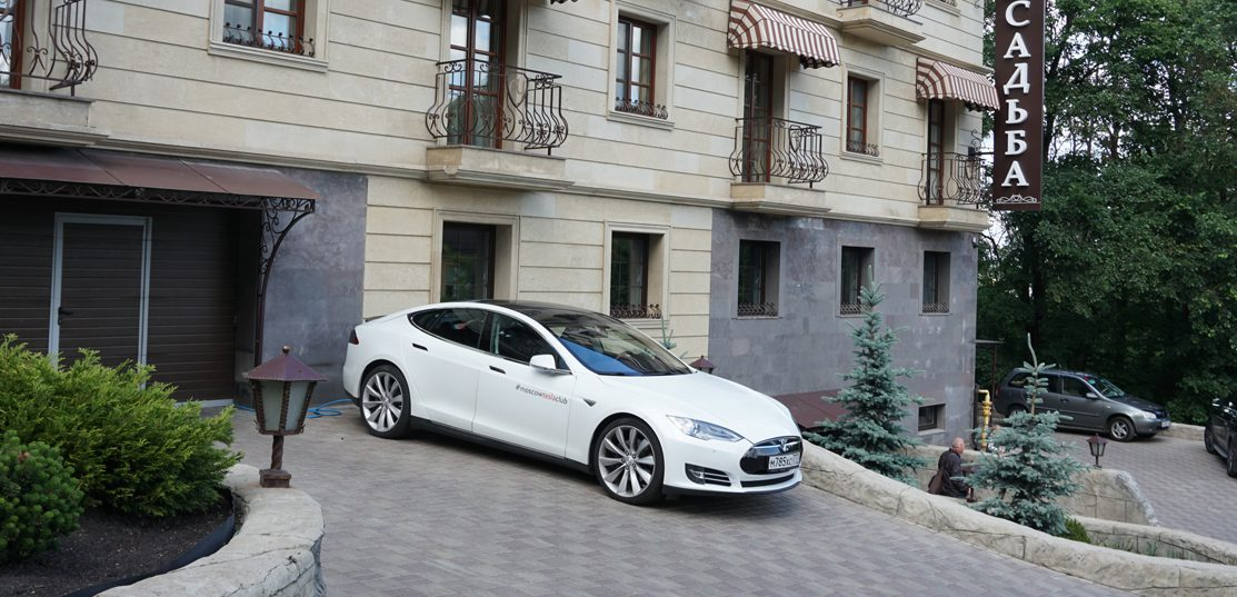 Tesla owners built charging stations in Russia to make it ...