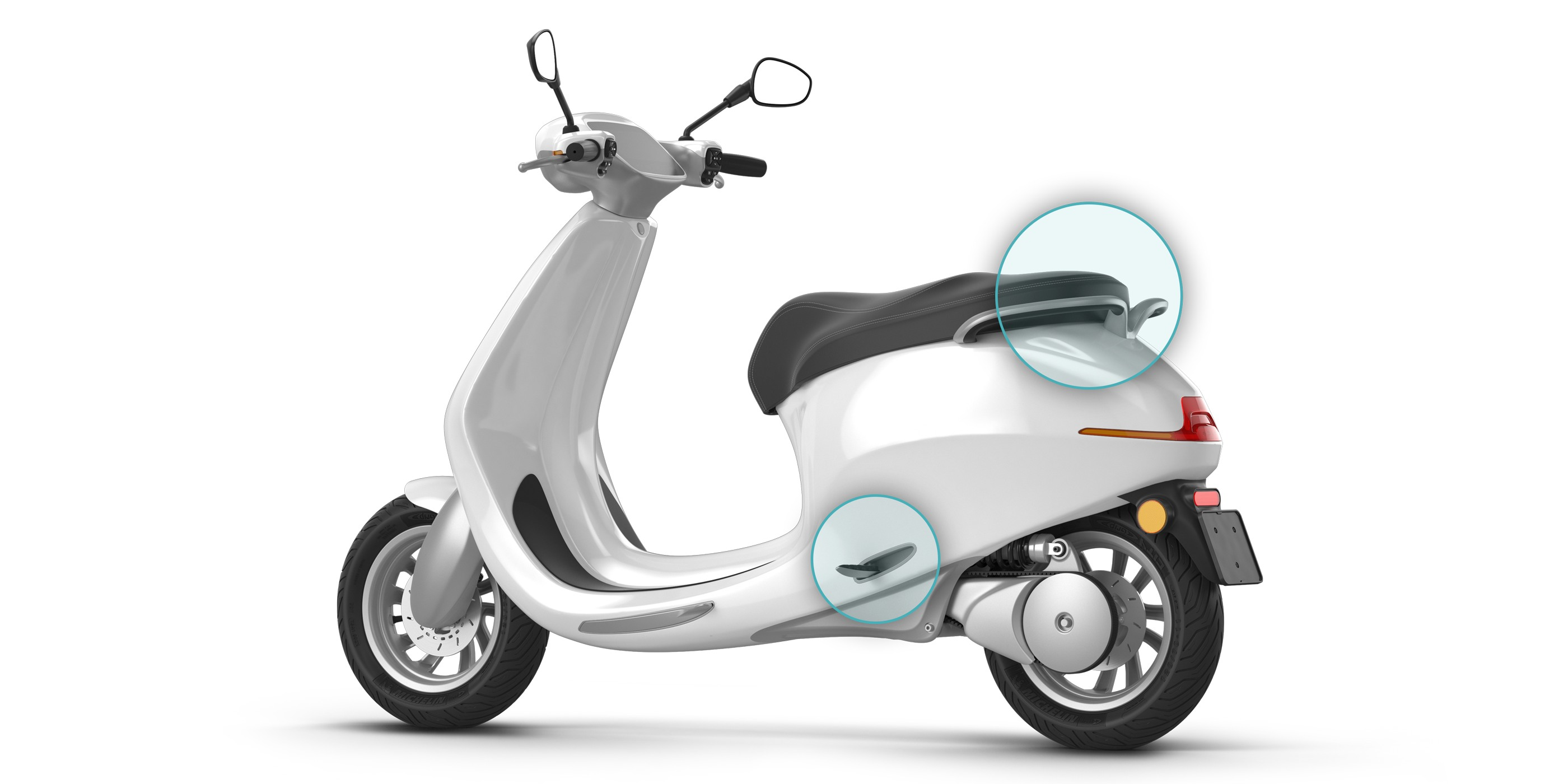 Electric Motor Scooter >> New Dutch Built Electric Scooter Claims 400 Km Range With Modular