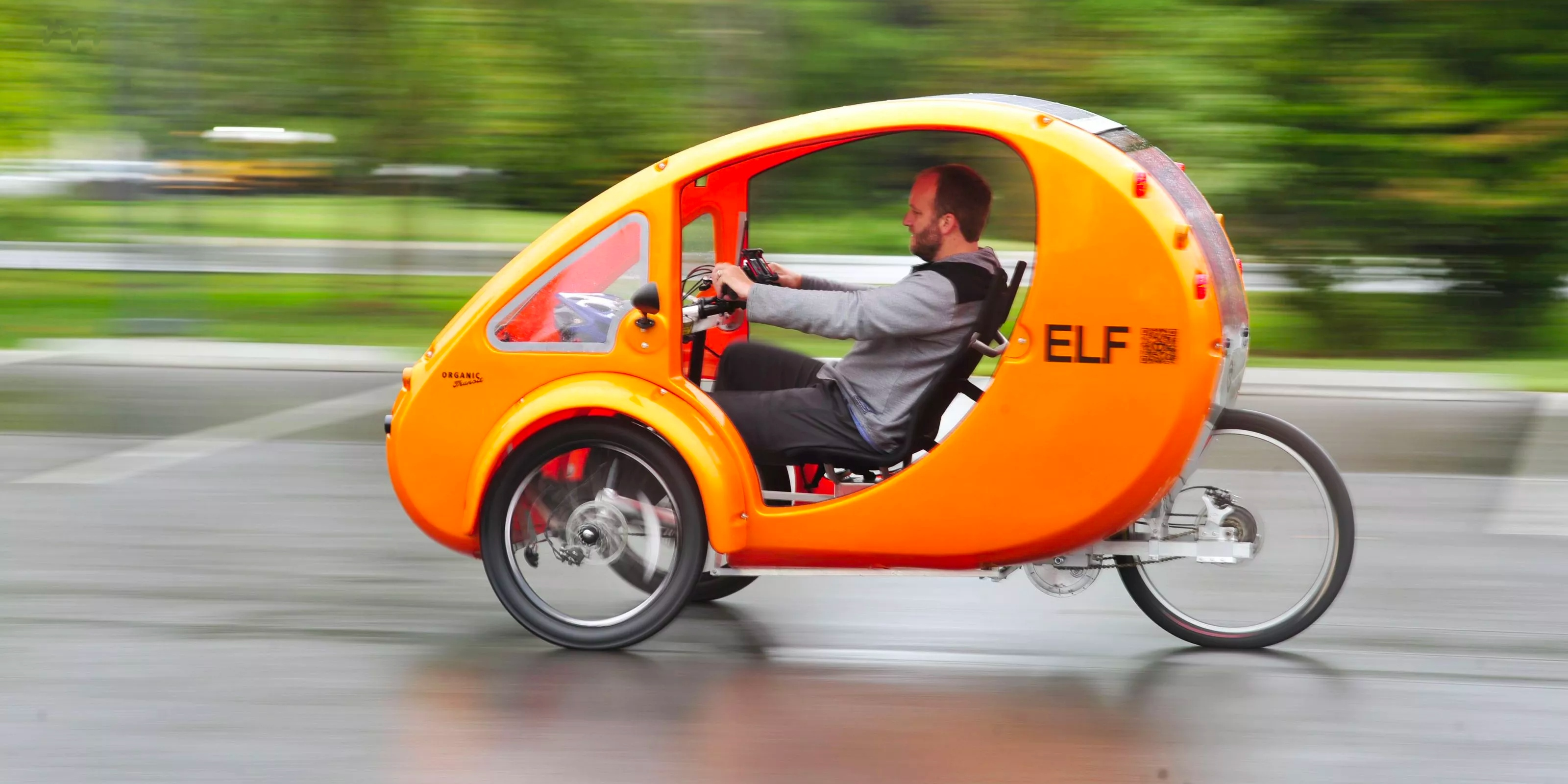 Solar Powered Electric Bike Cars Elf And Pebl Might Just Be Weird