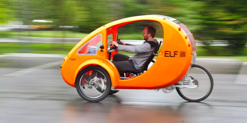Solar powered electric bike-cars ELF and PEBL might just be