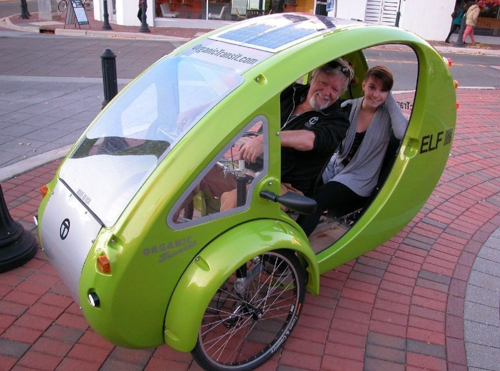how to make solar bike