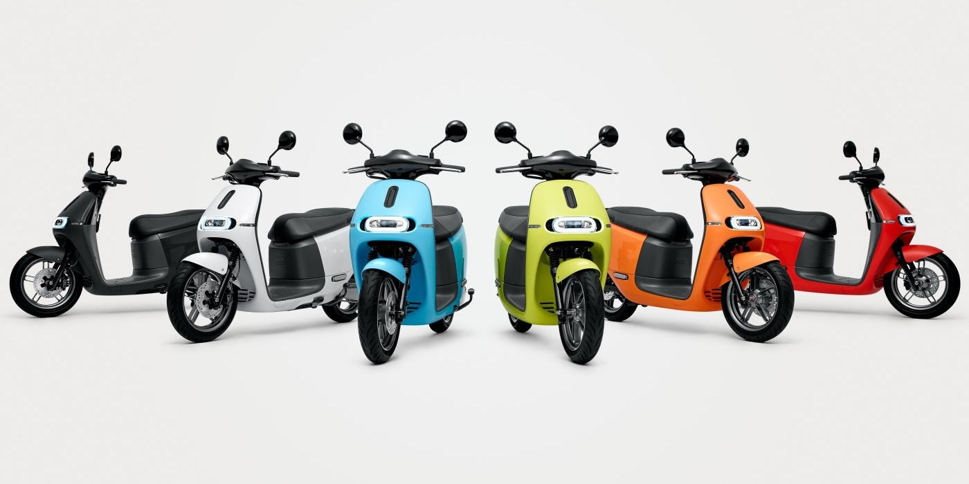 Gogoro launches two new 55+ mph electric scooters with hot-swappable