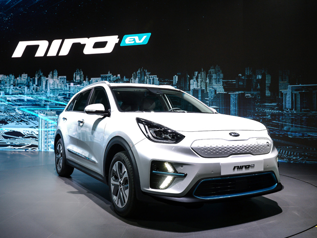 מעולה Kia unveils new all-electric Niro CUV 'up to ~280 miles of range II-26