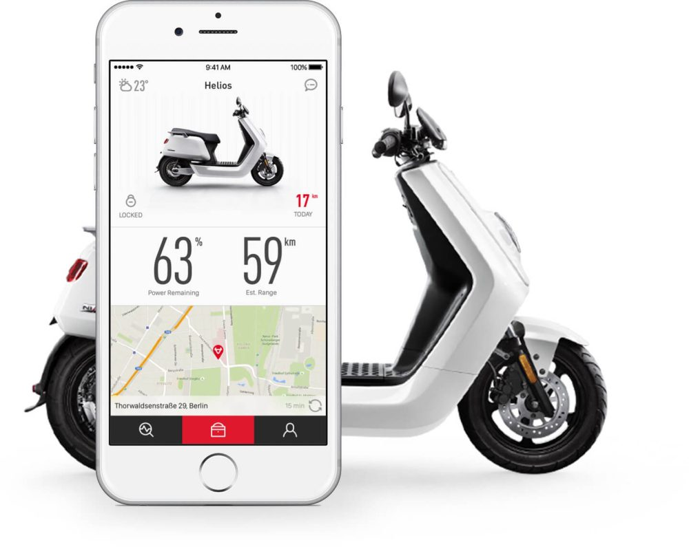 china 39 s largest electric scooter maker niu files for 150 million ipo in the us electrek. Black Bedroom Furniture Sets. Home Design Ideas
