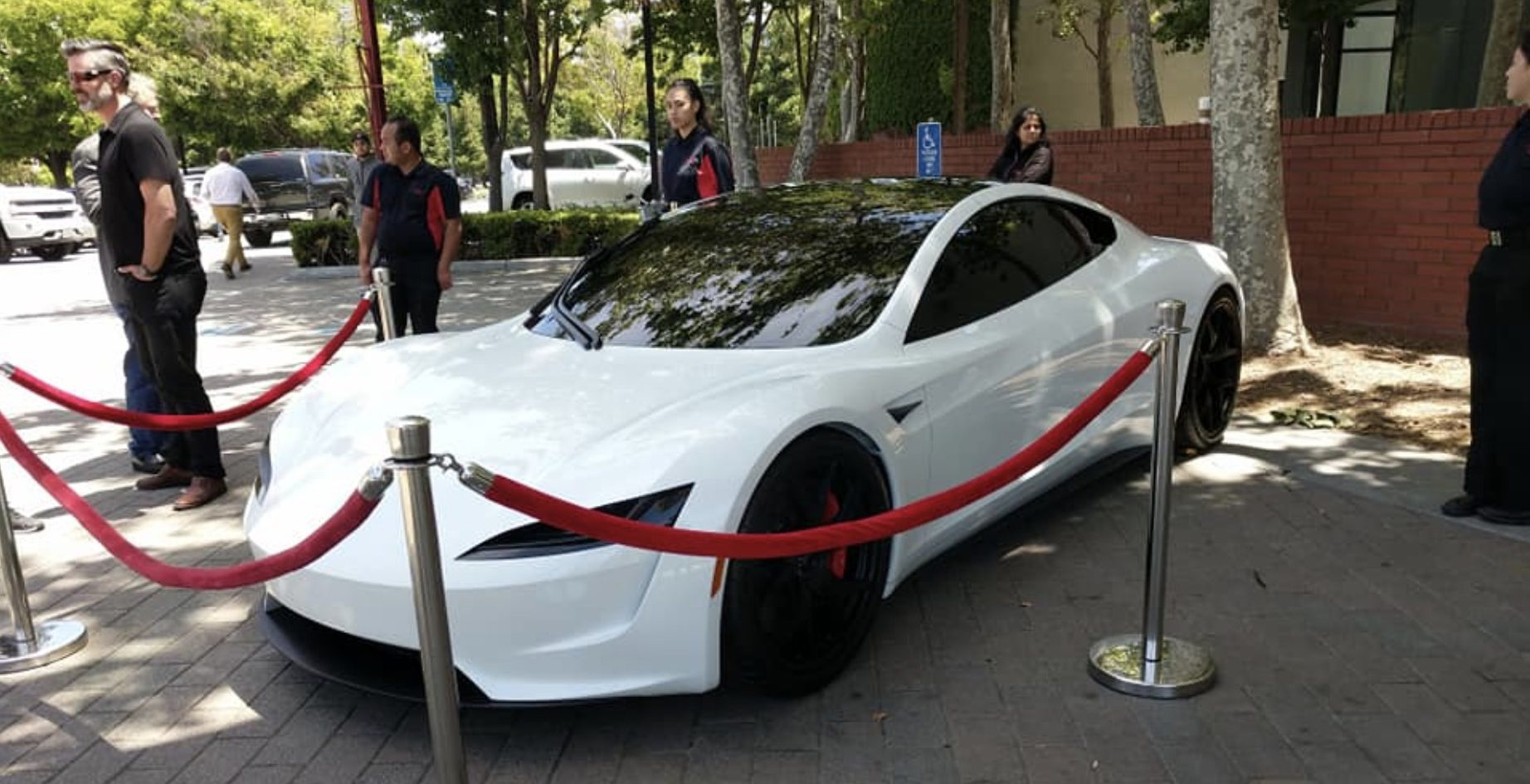 Tesla unveils new white next-gen Roadster prototype at shareholder meeting
