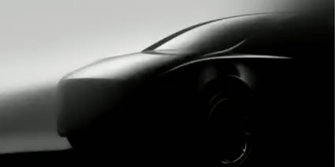 Tesla releases new image of Model Y electric CUV, Musk jokes about it having no steering wheel