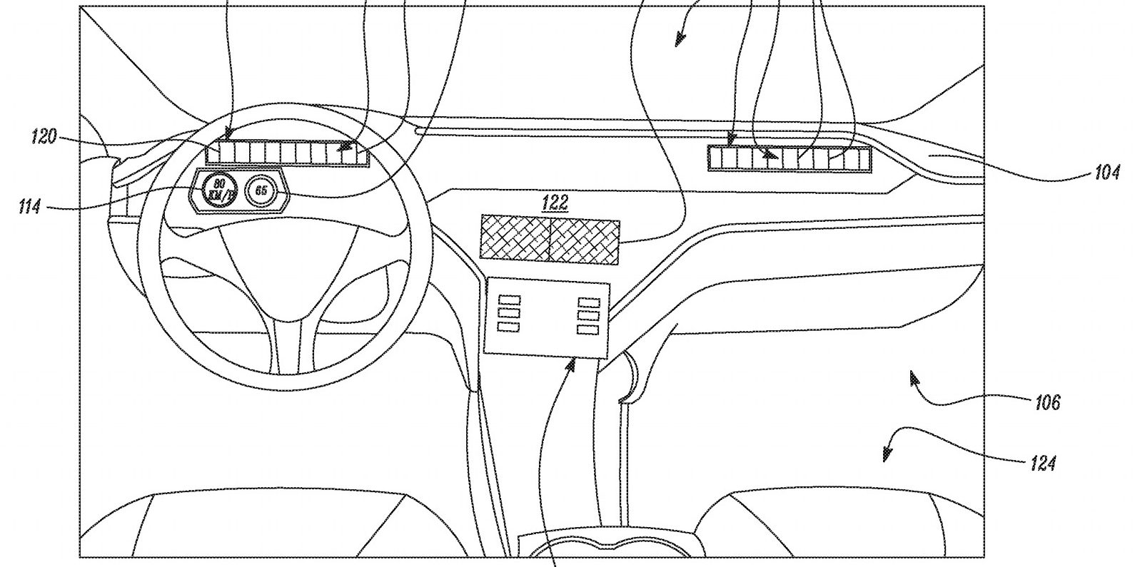 the system appears to work similarly to the model 3's hvac, but with  different vents and the first drawing shows an interior closer to the model  s and model