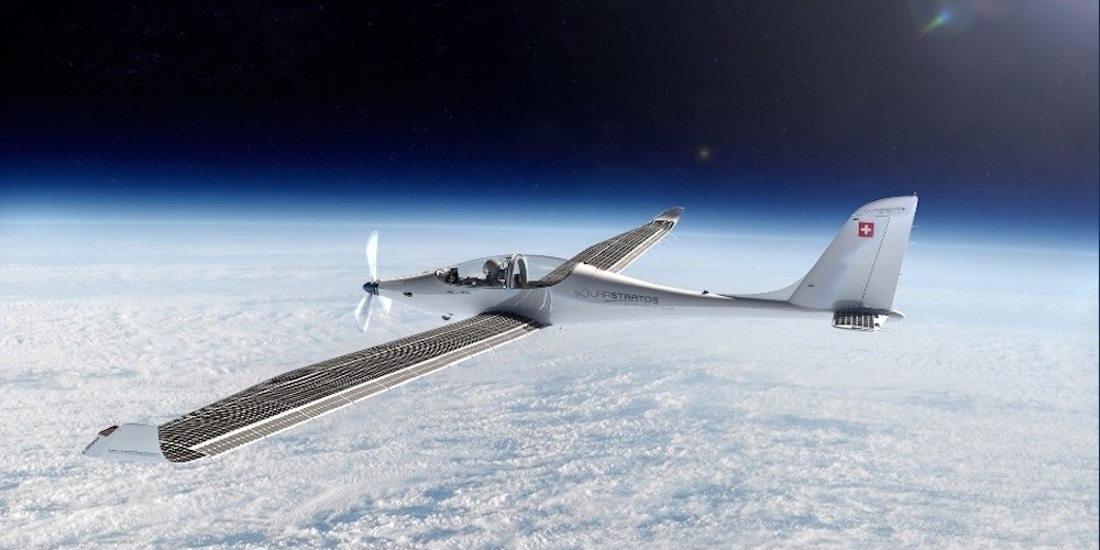 This 32kW plane will fly twice as high as commercial jets on SunPower